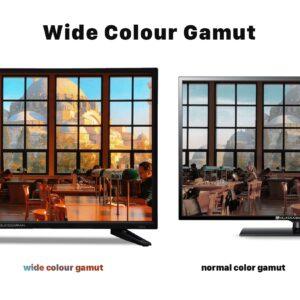 Quassarian wide colour gamut